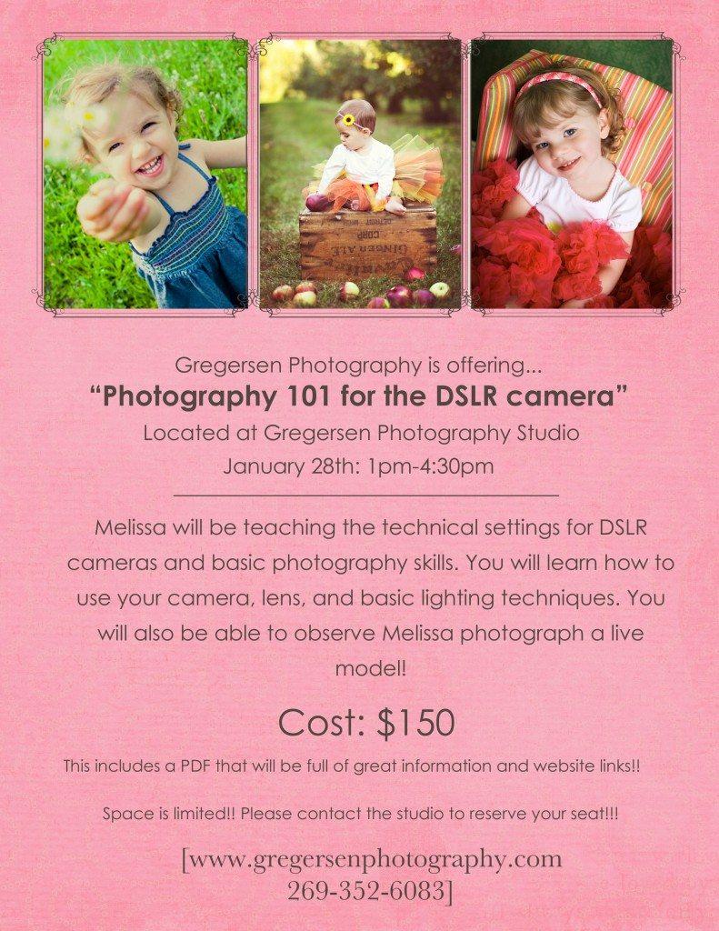 DSLR 101 - Gregersen Photography