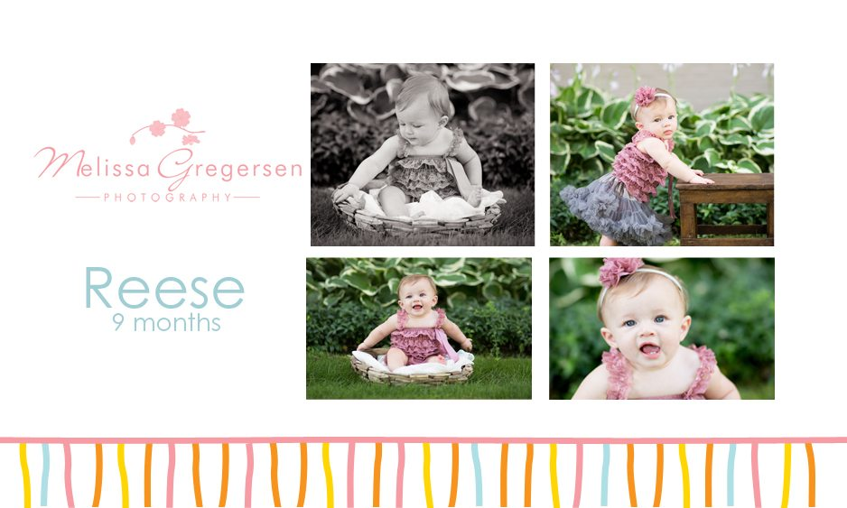 Reese…nine month old photography session {Kalamazoo Michigan Baby Photographer}
