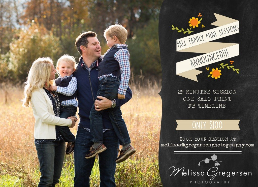 2015 FALL FAMILY MINI SESSIONS GREGERSEN PHOTOGRAPHY