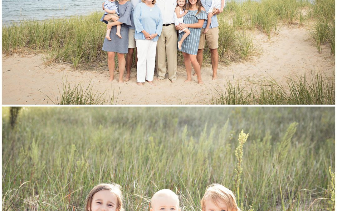 Family Photography in South Haven Michigan at Lake Michigan