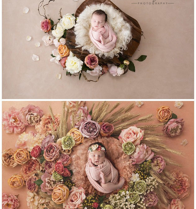 Newborn Photography Session with the beautiful Caliai