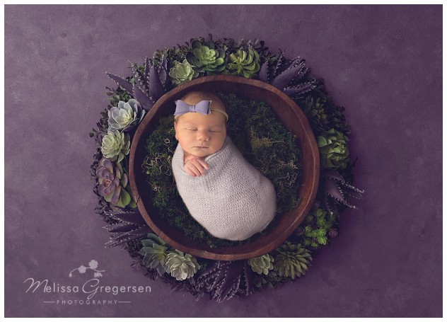 Mom said no one else is taking my newborn photos