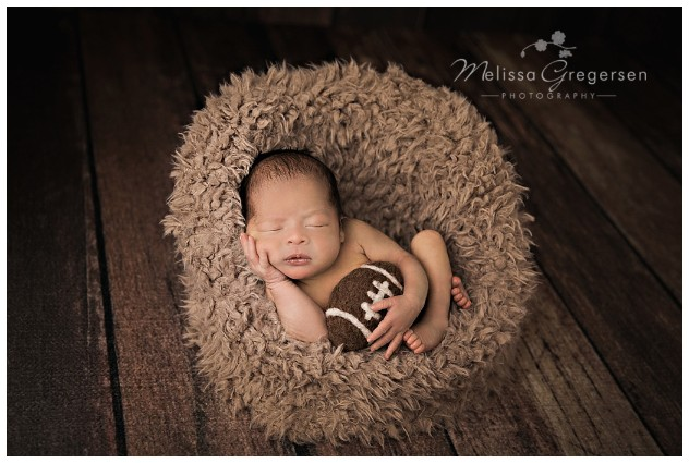 Adorable newborn baby boy photos at Kalamazoo Photography Studio