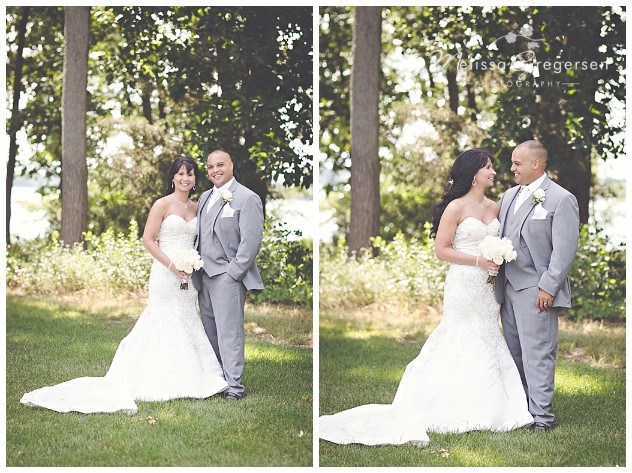 The simplistic bride and groom shot is always a perfect portrait for your wall!