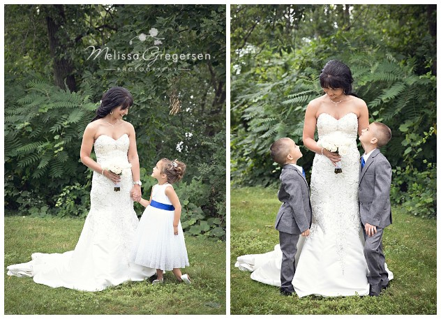 This mommy had some special moments with her little boys and new daughter!