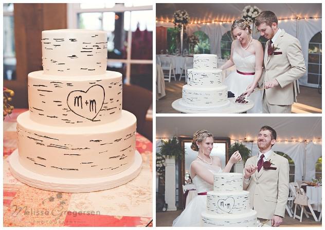 Cake cutting cuteness!