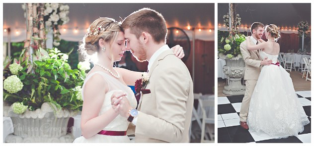 First dance images with backlighting are perfection!