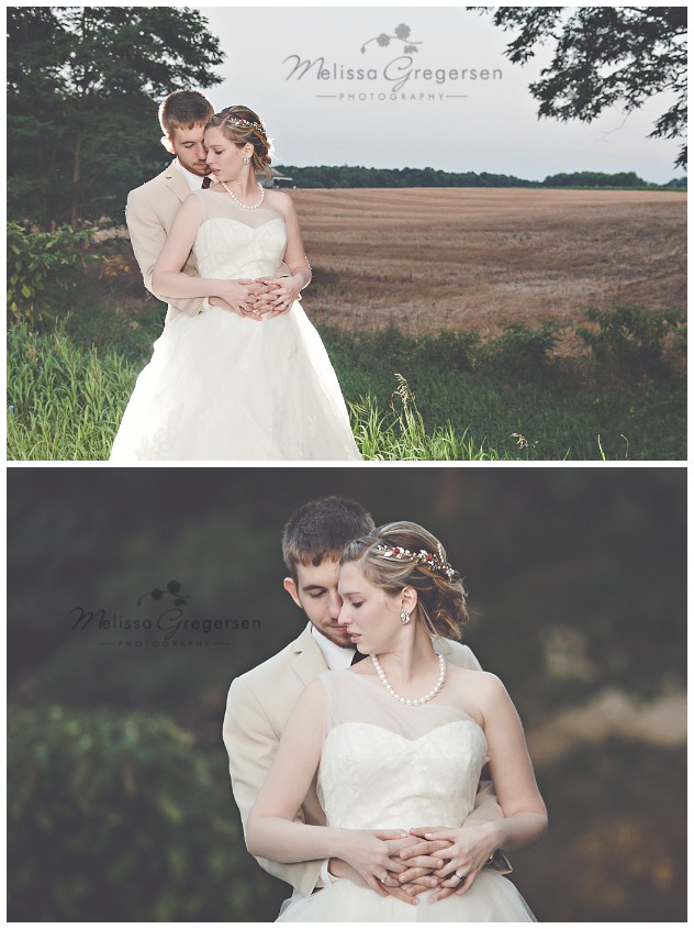 Wisked the bride and groom away for some country shoots at sunset. The light was amazing!