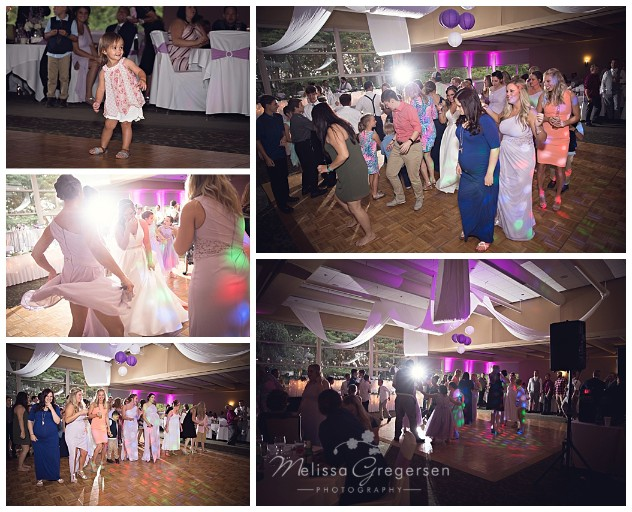 The dance floor was hopping!