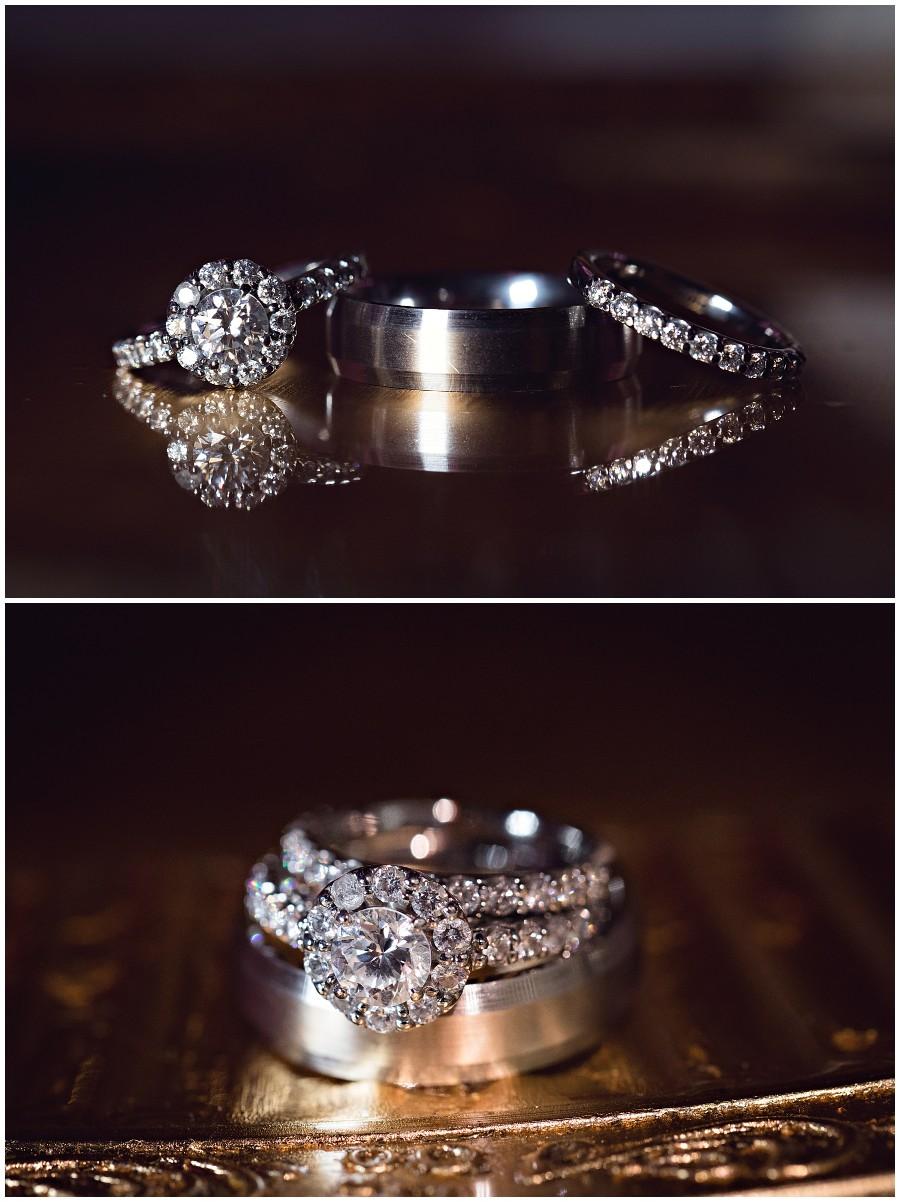 Wedding ring detail photographs Pakistani Wedding in Kalamazoo Michigan Gregersen Photography