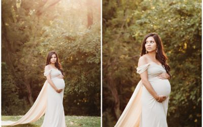 Fall Maternity Photography Session in Kalamazoo MI