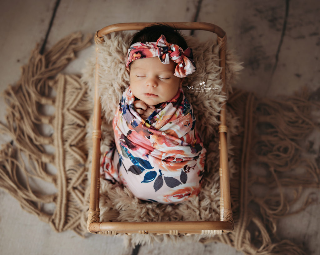 Newborn baby photography at Gregersen Photography in Kalamazoo, MI