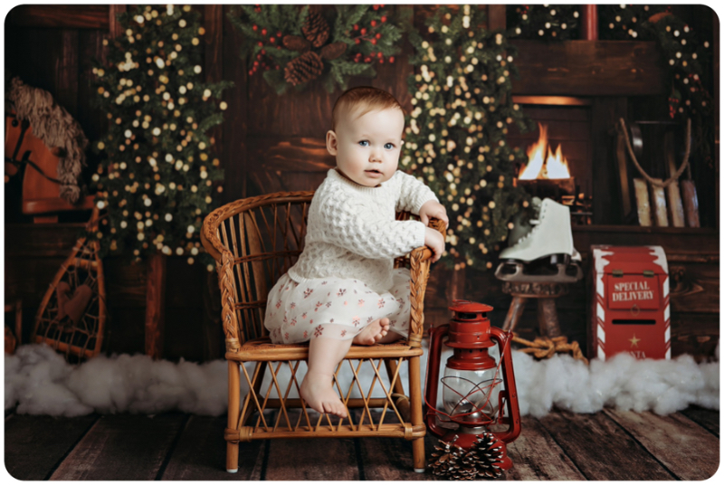 Kalamazoo newborn baby photography studio