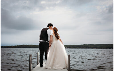 Lovely Spring Bay Pointe Inn Wedding on Gun Lake