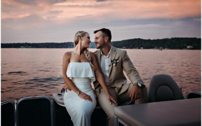 Veronica and Tyler married at Bay Pointe Inn Gun Lake
